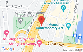 Map of 3 Cumberland St, The Rocks NSW 2000