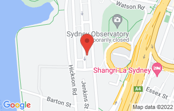 Map of The Langham Sydney, 89-113 Kent Street Sydney NSW 2000