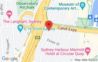Map of 176 Cumberland Street,  The Rocks, Sydney, NSW 2000, Australia