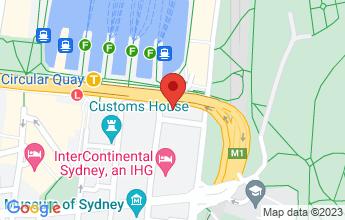 Map of 2 Phillip Street, Circular Quay Sydney NSW 2000