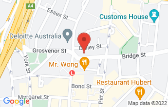 Map of 6 Bridge St, Sydney NSW 2000