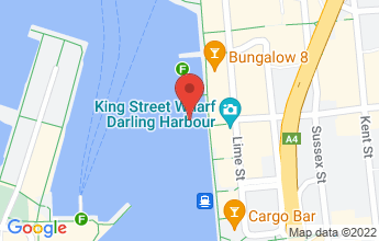 Map of 17 Lime Street, King Street Wharf, Sydney