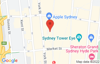 Map of 4/393 George St, Sydney NSW 2000