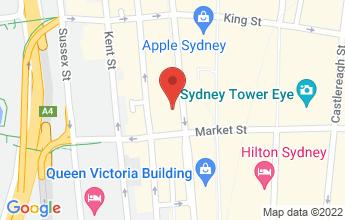 Map of Level 7, 99 York Street, Sydney
