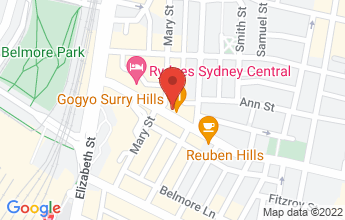 Map of 48 Albion Street, Surry Hills , NSW 2010