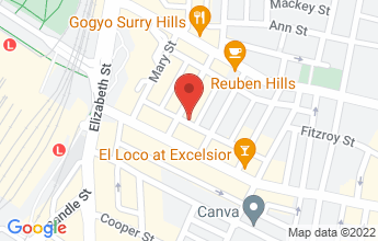 Map of Entry on Belmore Lane, Shop 2, 226-228 Commonwealth Street, Surry Hills NSW 2010