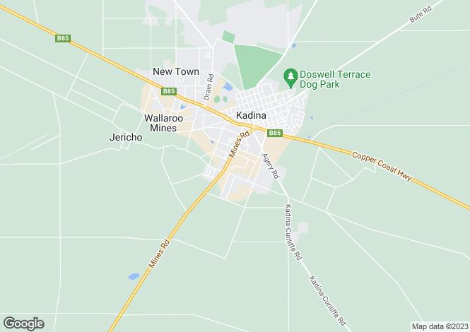 Map for 24 Ramsey Street, JERUSALEM 5554