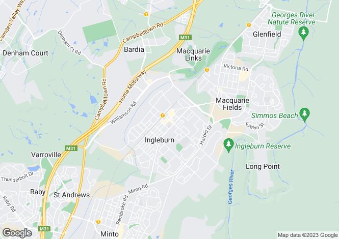 Map for Lot 26 Ingleburn Gardens Drive, INGLEBURN 2565