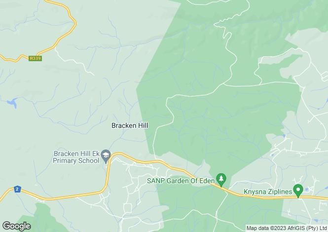 Map for C35 Pezula Private Estate, Knysna, Western Cape