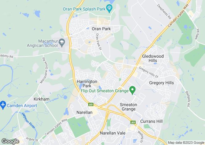 Map for Lot 123 Cogrington Avenue, HARRINGTON PARK 2567