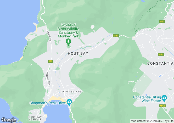 Map for 30 Belair Drive, Constantia Upper, Cape Town, Western Cape