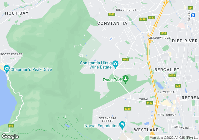 Map for 31-33 Head Road, Fresnaye, Cape Town, Western Cape