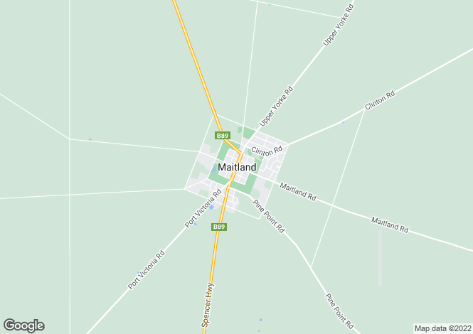 Map for 11 Viewbank Crescent, MAITLAND 5573