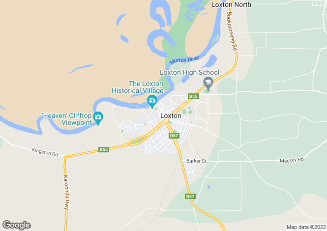 Map for 10 Quast Road, LOXTON 5333