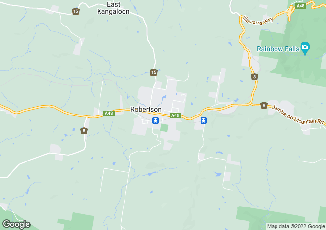 Map for 'Pinegrove Fountaindale Road, ROBERTSON 2577