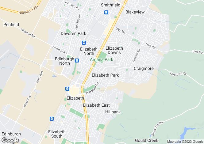 Map for 23 Oxford Court, ELIZABETH PARK 5113