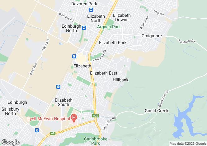 Map for 10 Grayling Street, ELIZABETH EAST 5112