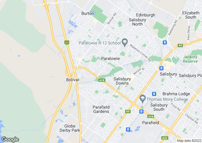 Map for 6 & 6A Sherwood Crescent, Paralowie 5108