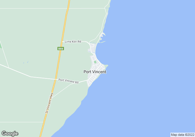 Map for 2 Ford Avenue, PORT VINCENT 5581