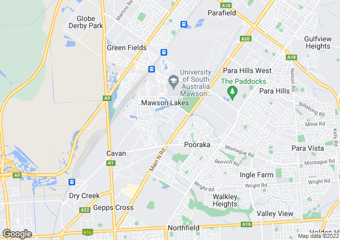 Map for 29/13-19 Hurtle Parade, MAWSON LAKES 5095