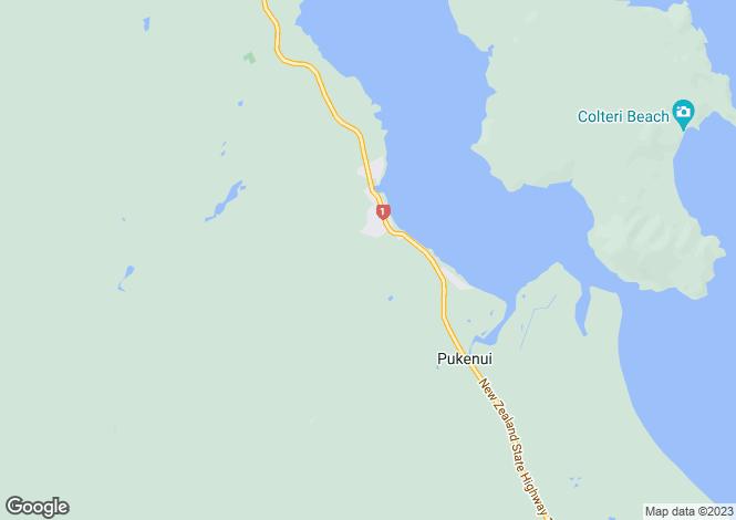 Map for 8 Lamb Road, Pukenui 0484