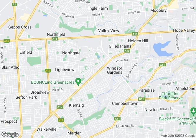 Map for 4/12 Fleet Avenue, HILLCREST 5086