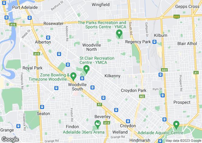Map for Res 2/9 Regency Road, KILKENNY 5009