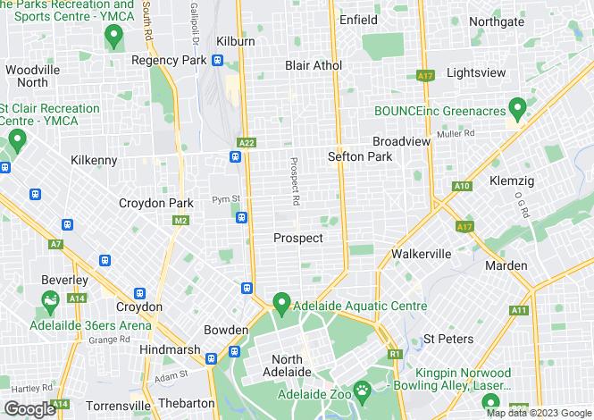 Map for Apartment/189 Devonport Terrace, PROSPECT 5082