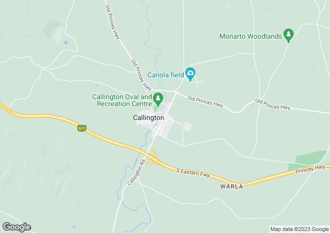 Map for 56 Samuels Road, CALLINGTON 5254