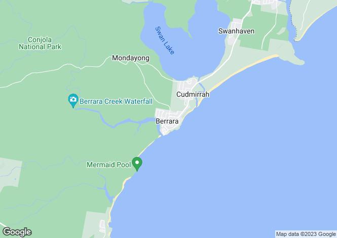 Map for 5 Silver Sands Drive, Berrara 2540