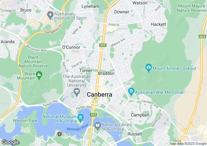 Map for 24 'Evoque' Girrahween Street, BRADDON 2612