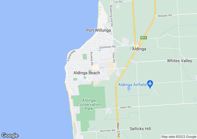 Map for 15 Wigham Road, Aldinga Beach 5173