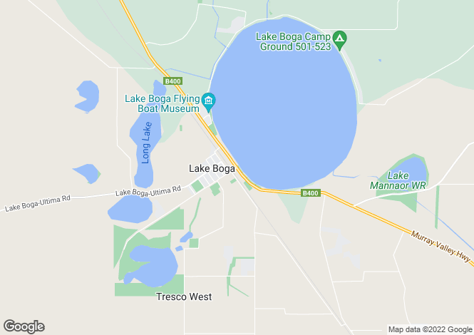 Map for 39A Murray Valley Highway, LAKE BOGA 3584