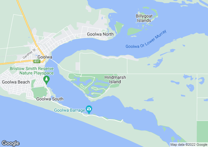 Map for 231 Excelsior Parade, HINDMARSH ISLAND 5214