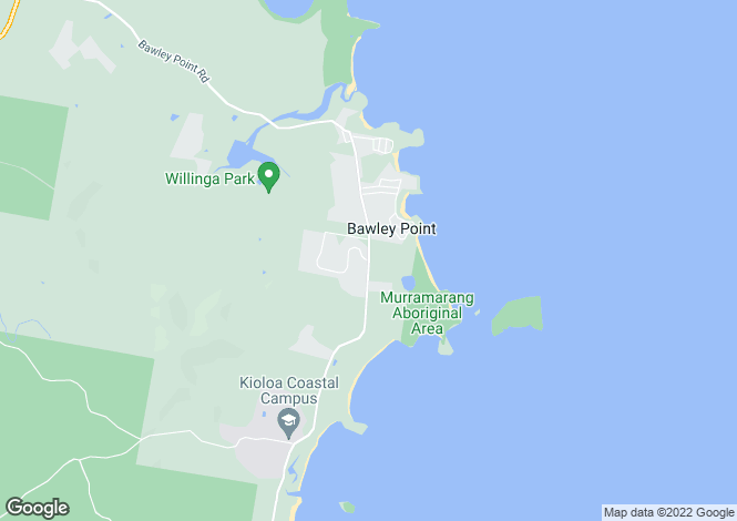 Map for 101 Willinga Road, BAWLEY POINT 2539