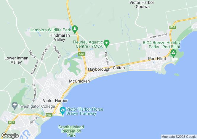 Map for Townhouse Corner of Yandra Terrace, HAYBOROUGH 5211