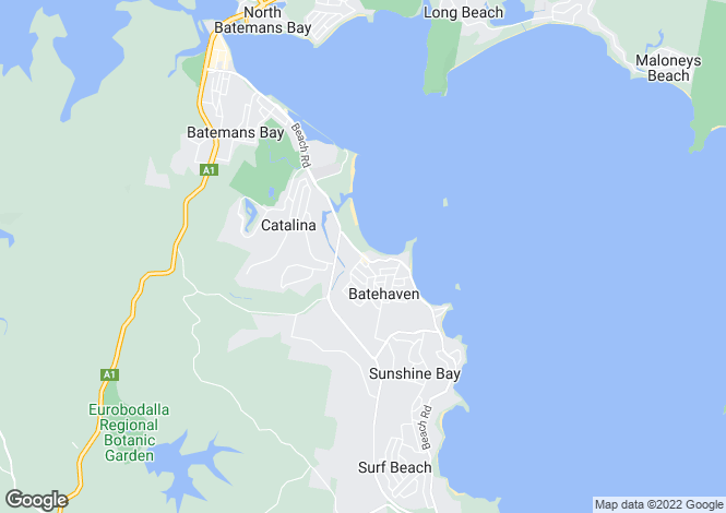 Map for 5/5 Crag Road, BATEHAVEN 2536