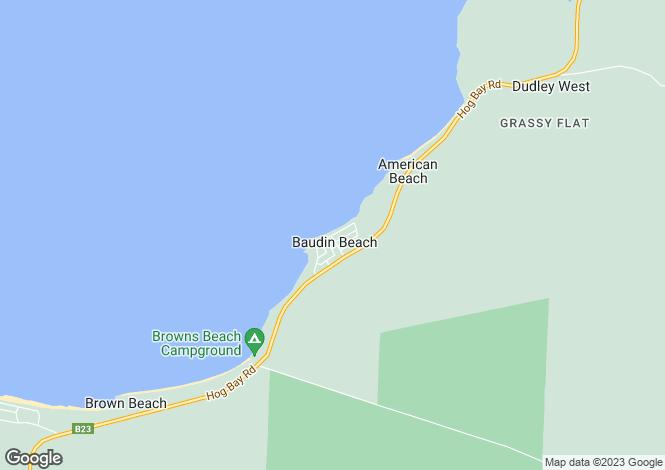 Map for Lot 162 Beach Crescent, BAUDIN BEACH 5222