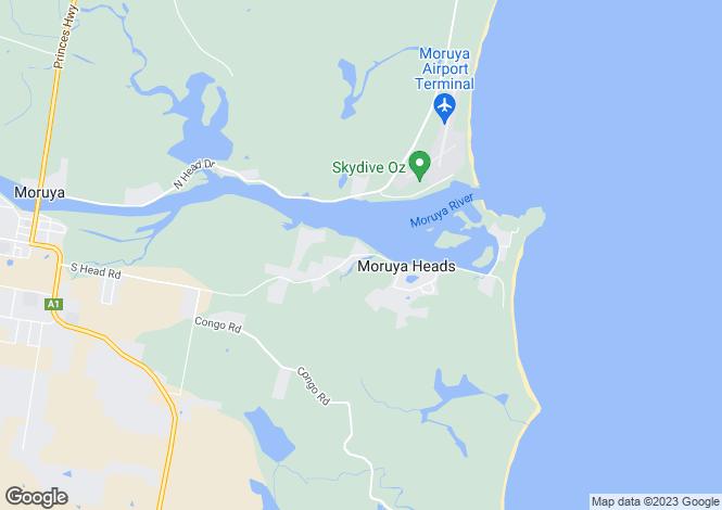 Map for 10 Hazel Road, MORUYA HEADS 2537