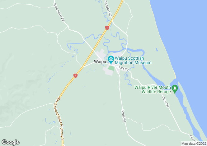 Map for Lot 8 State Highway 1 - Brynderwyn, Waipu 0510
