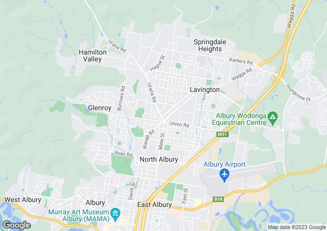 Map for 1/508 Kemp Street, LAVINGTON 2641