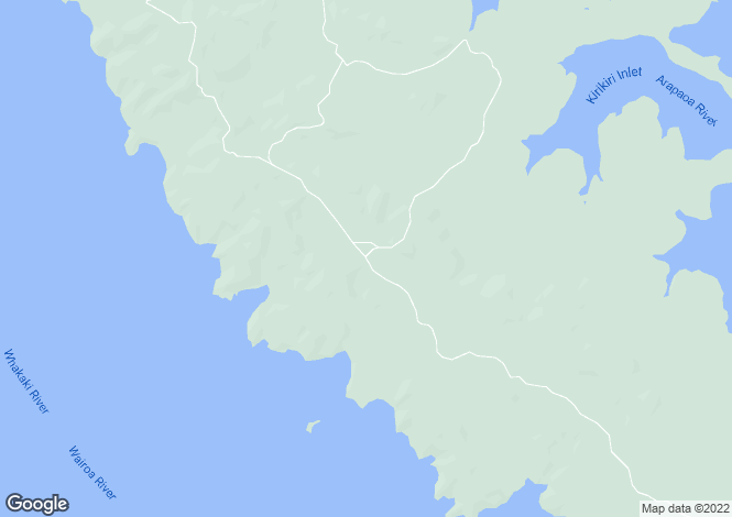 Map for Northland