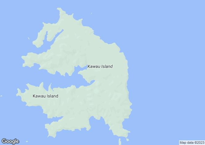Map for A North Cove, Kawau Island 1240