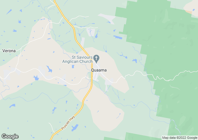 Map for 222 Hore Laceys Road, QUAAMA 2550