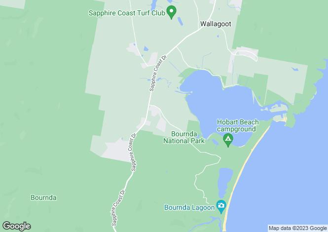 Map for Lot 6/ 130 Bournda Road, WALLAGOOT 2550