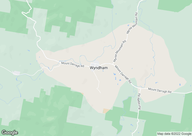 Map for 121 Devils Hole Road, WYNDHAM 2550