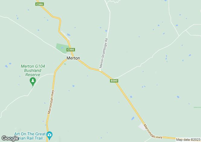 Map for 261 Merton Strathbogie Road, MERTON 3715