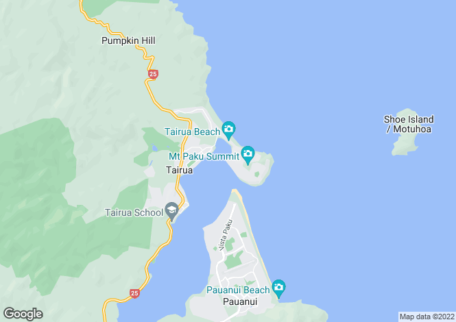 Map for New Zealand