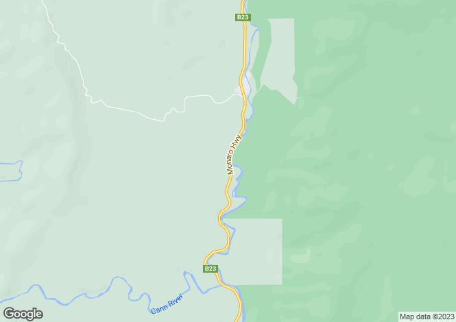 Map for 3019 Monaro Highway, CHANDLERS CREEK 3890