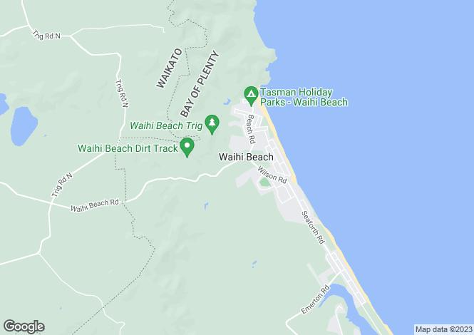 Map for 14 Reel Road, Waihi Beach 3611